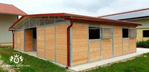2 Doppel Außenboxen unter einem Dach, München DE